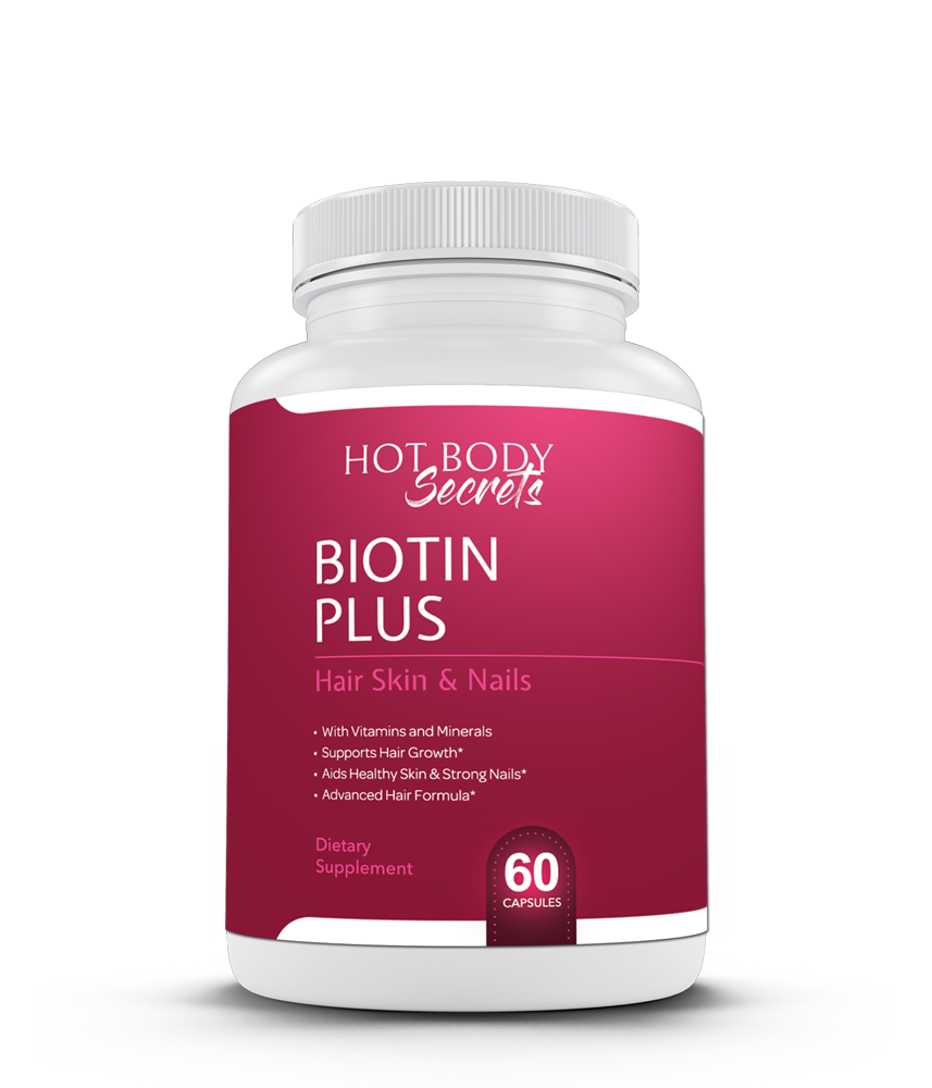 Hot Body Secret's Biotin Plus supplement by Amanda Kotel has been specifically designed for hair, skin, and nail health. It is comprised of biotin and all of the vitamins and nutrients necessary to boost hair growth, improve skin complexion and enhance nail strength. Even if some pharmaceuticals have taken them away.