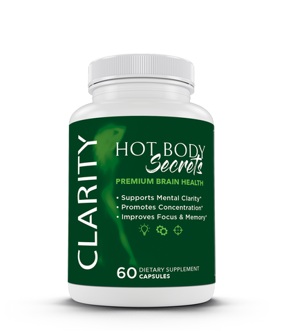 Hot Body Secrets Clarity Supplement by Amanda Kotel helps your everyday nourishment, highlighting mental fitness. It contains the main keystones of nourishment, vitamins, and minerals, and antioxidants to support mental clarity, promote concentration, and improve focus and memory.