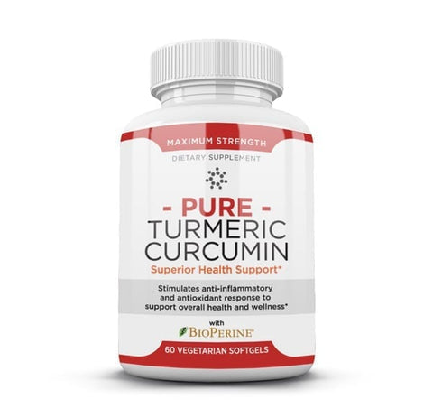 Pure Turmeric Curcumin helps reduce inflammation in the body so you can live a healthier, fuller life. With Pure Turmeric Curcumin health supplement, you can enjoy improved brain function, reduced risk of brain and heart diseases, reduced inflammation, increased antioxidants, reduced joint pain, and delay aging.