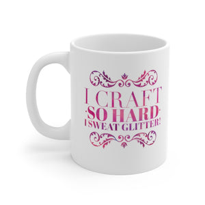 I Sweat Glitter: Coffee Mug