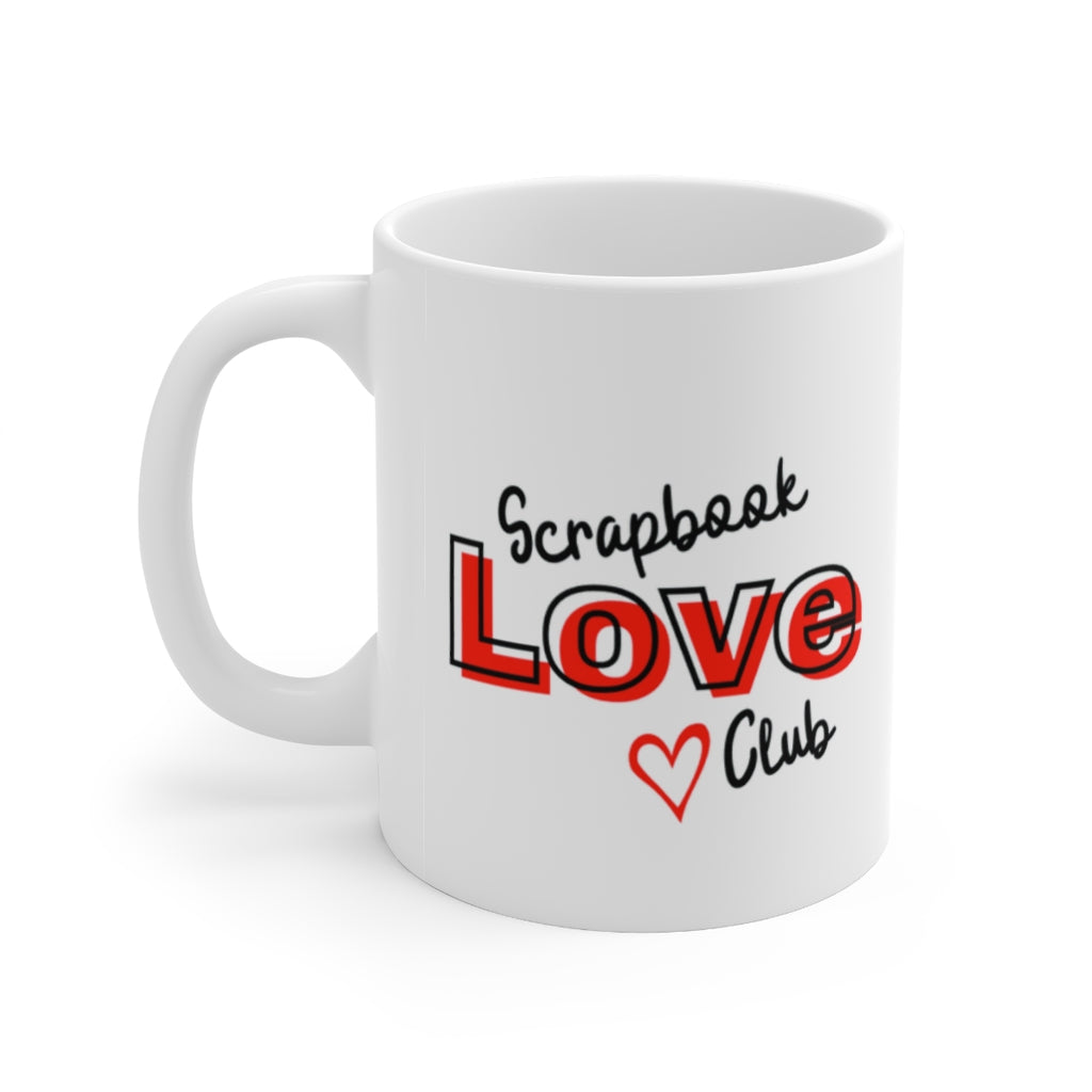 Scrapbook Love Club: Coffee Mug