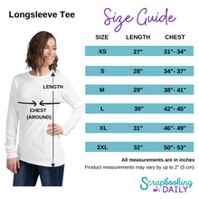 Load image into Gallery viewer, Scrapbooking Queen: Long Sleeve Shirt