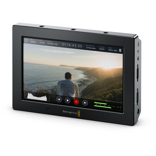 Blackmagic Video Assist 4K 7IN Hi-Res Monitor w/ Ultra HD Recorder