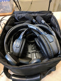 Eartech - UltraLITE 4 Person Headset System w/ batteries, charger, & case (Single Ear)