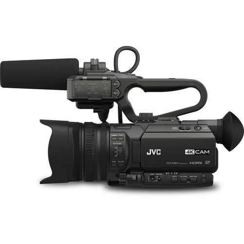 JVC GY-HM200 4KCAM Compact Handheld Streaming Camcorder (Refurbished)