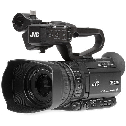 JVC HM180 4KCAM COMPACT HANDHELD CAMCORDER w/INTEGRATED 12X LENS