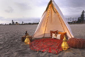 Indian Night Tipi