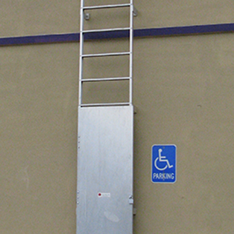 Ladder Security Door