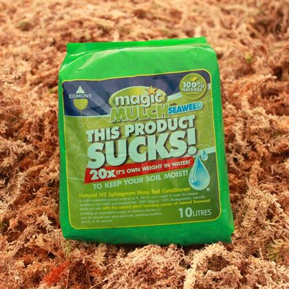 Magic Mulch - 10 litre milled (chopped) sphagnum moss and seaweed