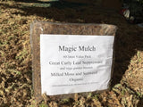 Magic Mulch - Curly Leaf Suppressant  Bulk Bag - 100 or 60 Litres       INTERNET ONLY