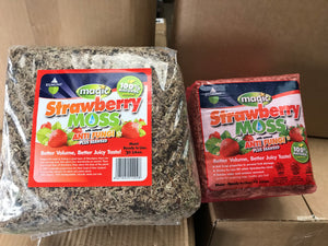 Strawberry Moss Bulk Deal - Buy 40litres for $ 48.00