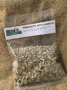Vermiculite with Activated Charcoal