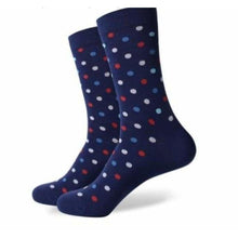 Load image into Gallery viewer, Boston Small Dot Socks - Eliot Grey