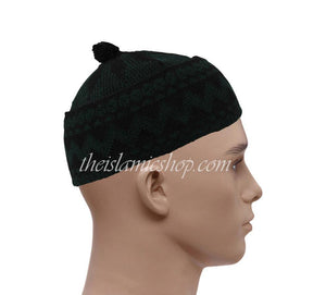 Alif-haji-hats-black-dark-green-high-qualty-the-islamic-shop