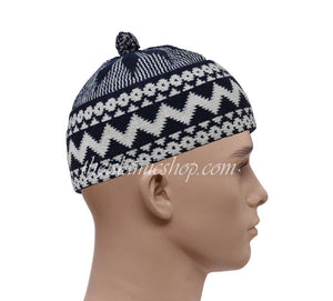 Alif-haji-hats-white-navy-high-qualty-the-islamic-shop
