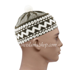 Alif-haji-hats-white-olive-high-qualty-the-islamic-shop