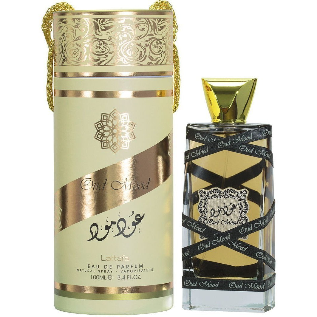 cheapest Oud Mood 100ml By Lattafa Floral Notes Ambery Musky Woody Perfume Spray the islamic shop