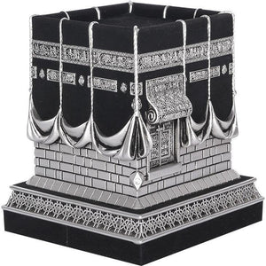 Premium quality Islamic Table Decor Kaba Replica Muslim Gift Gold & Black BB0975 Medium Size - The Islamic Shop