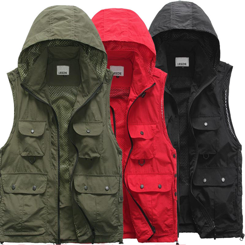 Hooded Windproof Vest