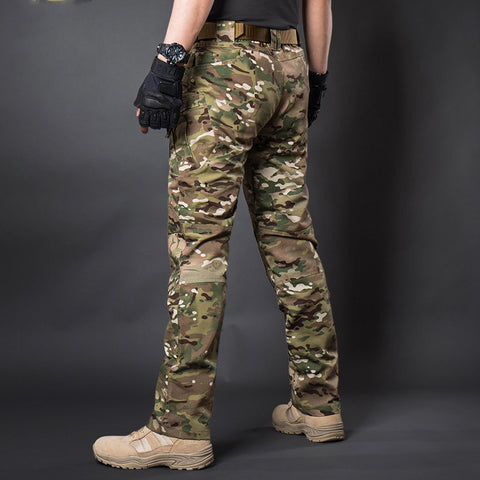 Cotton Military Pants