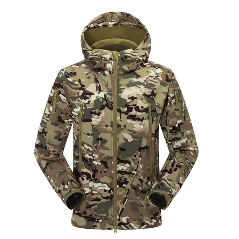 Forest Camouflage Coat