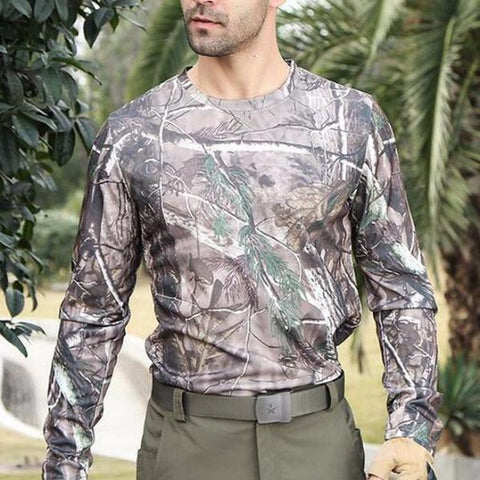 Camouflage Long Sleeve Shirt