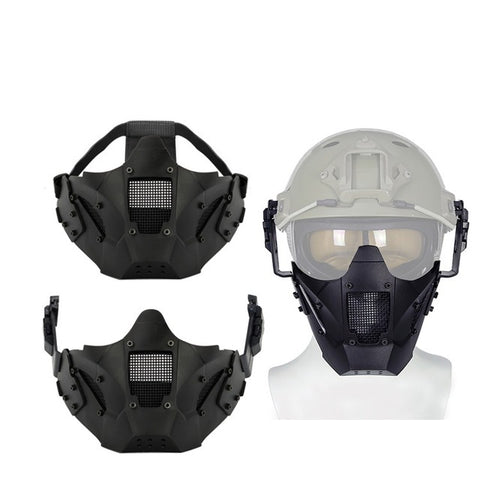 Military Half Face Mask