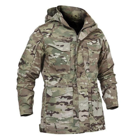 Multi-Pocket Hunting Coat