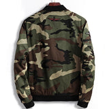 Casual Camo Bomber Jacket