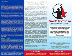 Simple Spectrum Nutritional Support Supplement