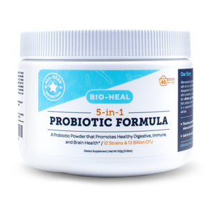 5-in-1 Bio-Heal Probiotic - Powder