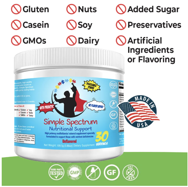 Simple Spectrum - Nutritional Support Supplement