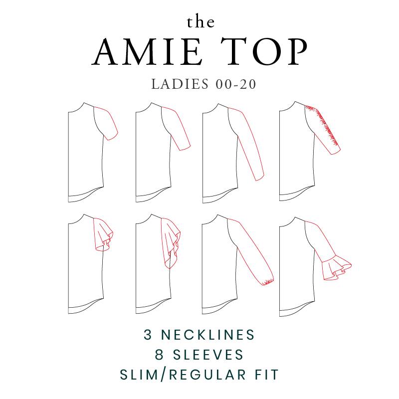 New Pattern Release - The Amie Top
