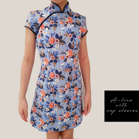 Custom Ladies Qipao / Cheongsam PDF sewing pattern