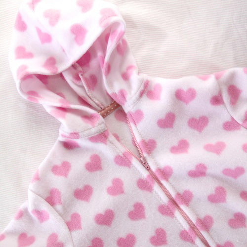 Free Fleece Hoodie Jacket Pattern