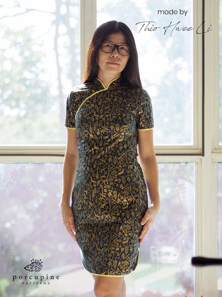 Custom Size Qipao with Measure Fit App
