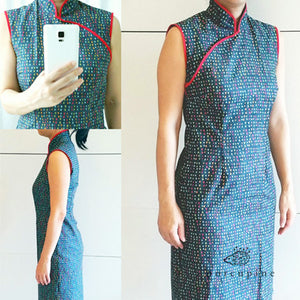 Free Ladies Qipao/Cheongsam Pattern