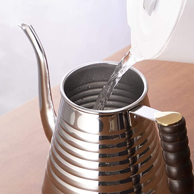 KALITA WAVE STAINLESS STEEL KETTLE 1L