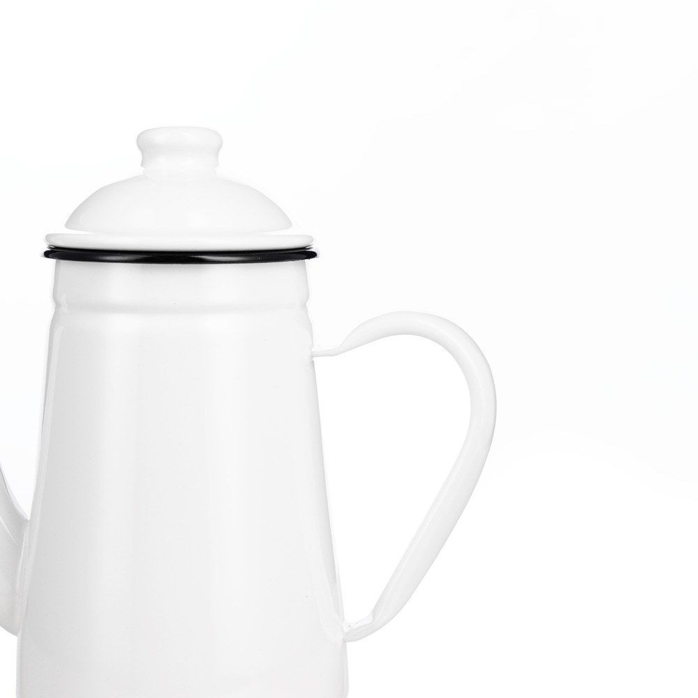 KALITA ENAMEL DRAGON NECK KETTLE - 1L