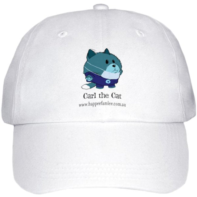 Cap White - Carl the Cat