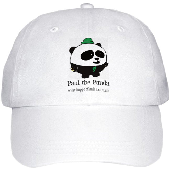 Cap White - Paul the Panda