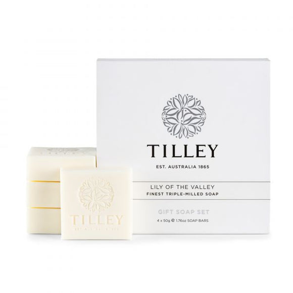 Tilley - Gift Soap Set - 4 x 50g