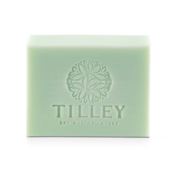 Tilley - Soap - Basil & Mint  - SINGLE BAR