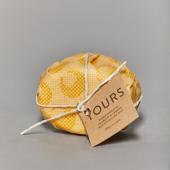 Yours - Moisturising Body Bar - Honeysuckle, Jasmine & Lemon