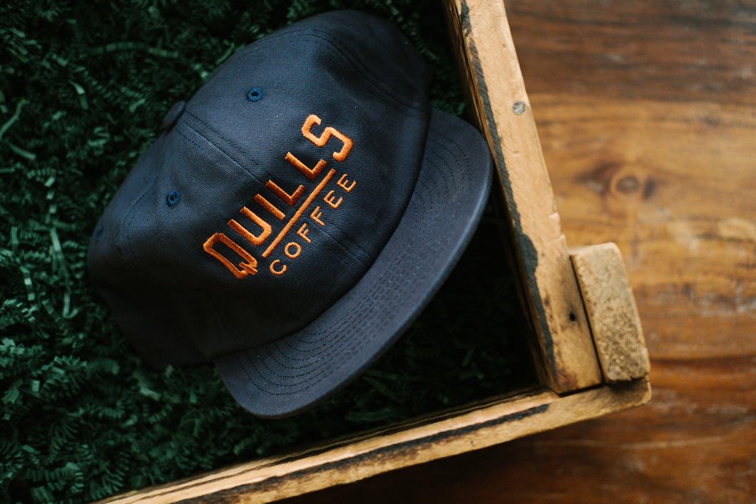 Quills Field Trip Hat - Charcoal