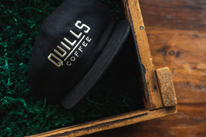 Quills Field Trip Hat - Black