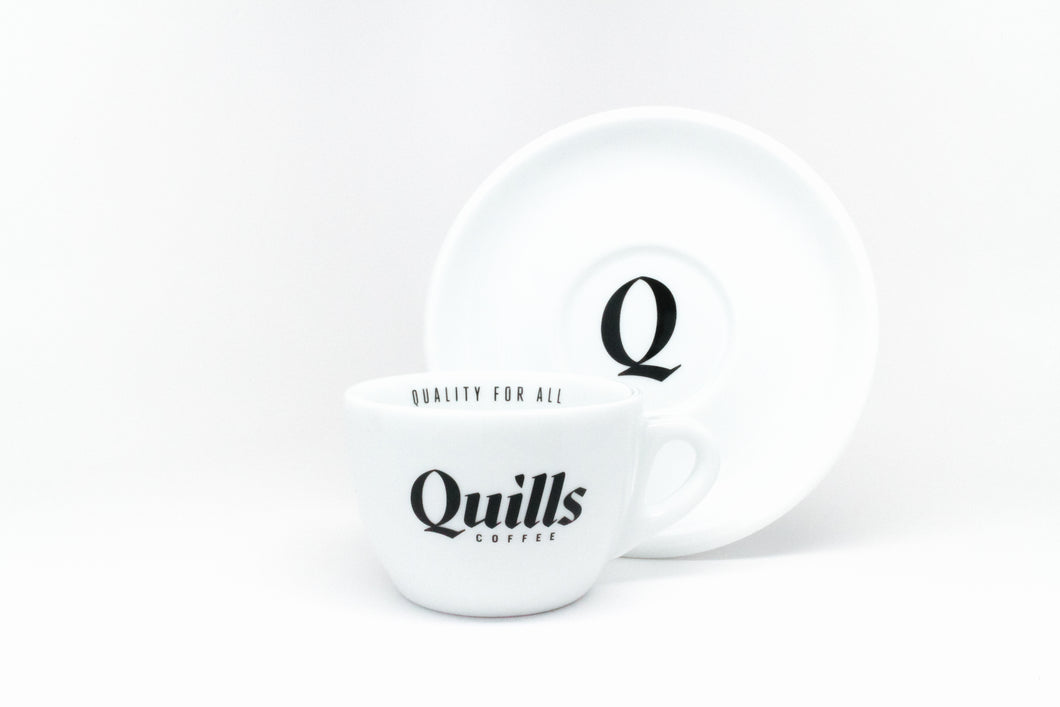 Quills Ancap Cappuccino Cup - QuillsCoffee