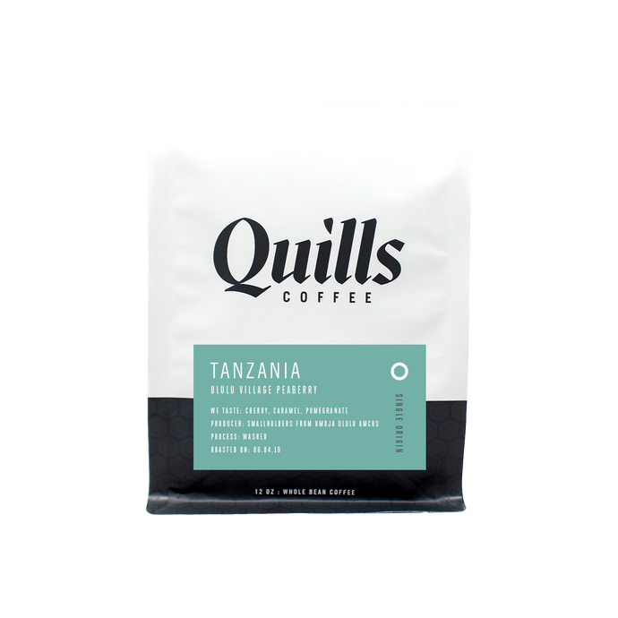 Tanzania: Ululu Village Peaberry - 12oz