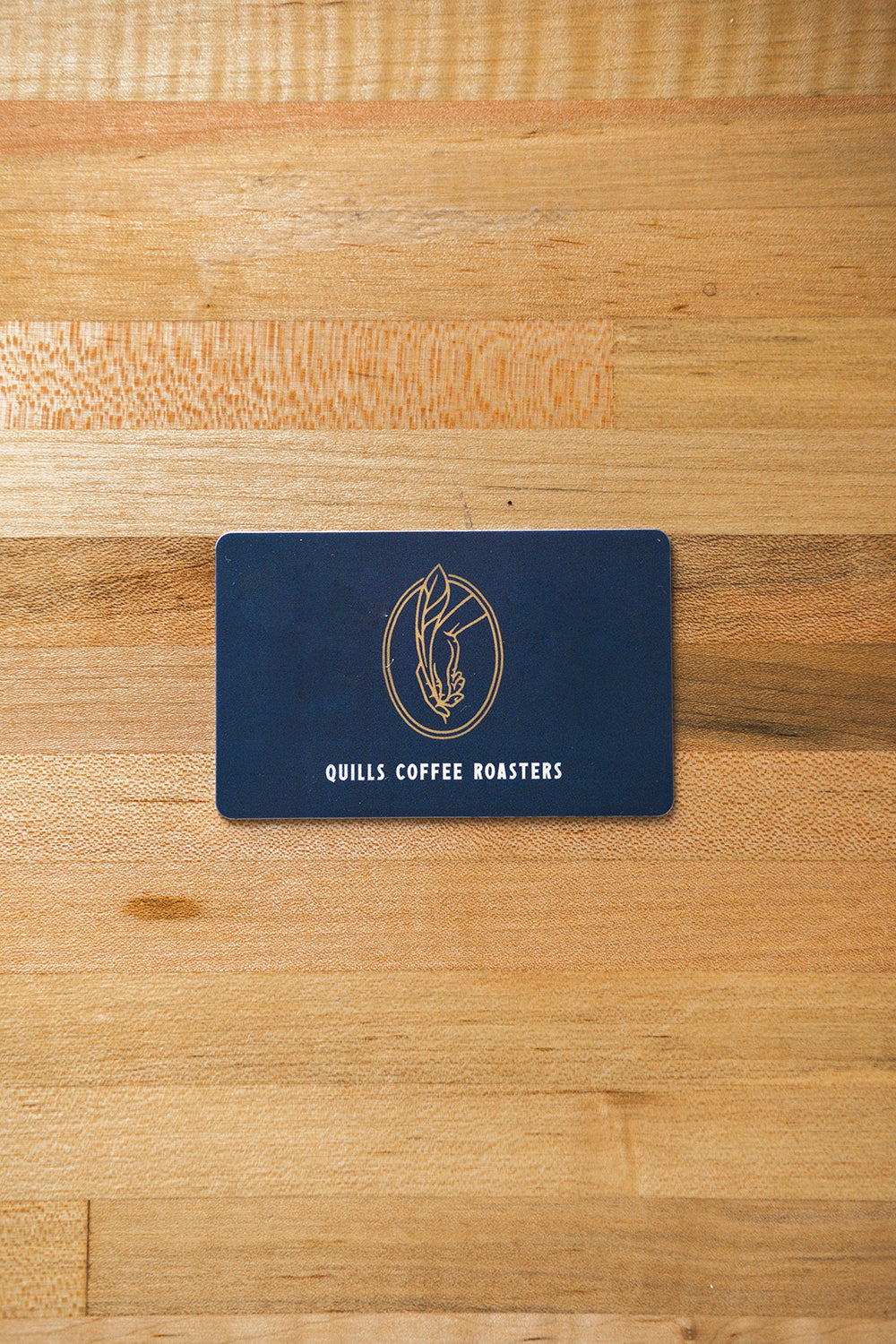 Quills Coffee Physical Gift Card