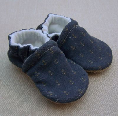 Organic Cotton Knit Slippers - 0 to 3 months
